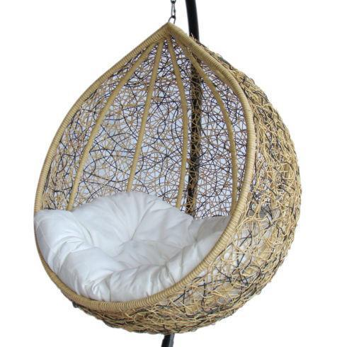 swing chair deals high end living room chairs wicker | ebay
