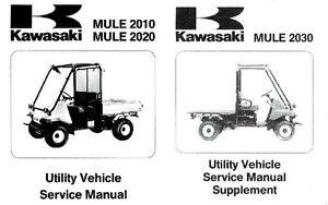 Kawasaki Mule 2010 2020 2030 KAF540 C1 D1 E1 Shop Service