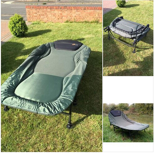 fishing chair bed reviews 4 less cyprinus double 2 man wide guy large 8 leg carp camp bedchair