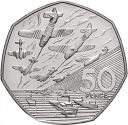 1994 50P COIN RARE D DAY LANDING UNCIRCULATED FIFTY PENCE BATTLE OF BRITAIN b