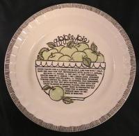 Royal China Jeannette Pie Plate | eBay