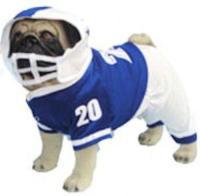 Football Player Dog Costume