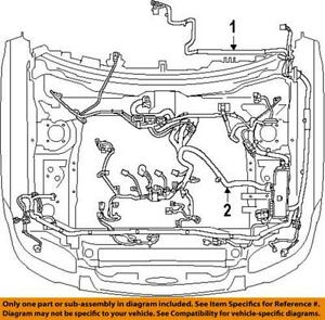 4 Pin Trailer Wiring Diagram 2012 Frontier Engine Wiring Harness Ebay