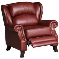 Leather Wingback Chairs Chair Rail With Beadboard Ebay