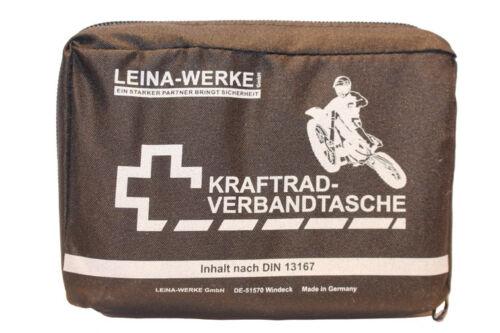 Kraftrad Motorrad Verbandtasche DIN13167 Verbandkasten Fahrrad Notfalltasche