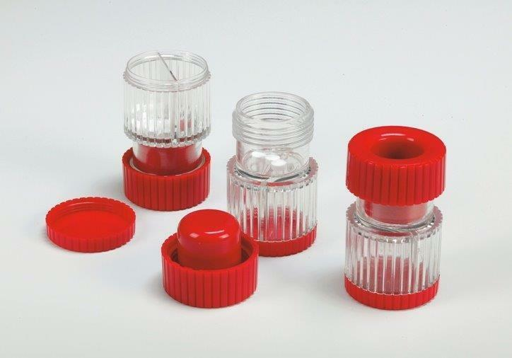 Tablettenmörser, Pillenmühle, zerkleinern von Tabletten und Drages