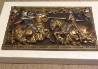 Knight Jousting Plaque Vintage Marcus Designs England ...