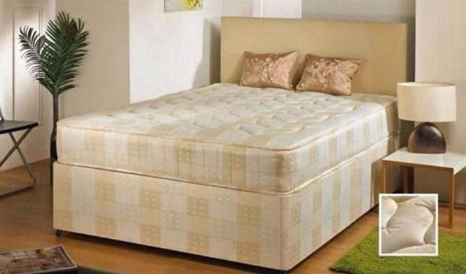 Special Offer King Size 4ft6 Double Or 4ft Small Divan Bed With Orthopedic Mattress