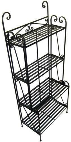 Wrought Iron Bakers Rack  eBay