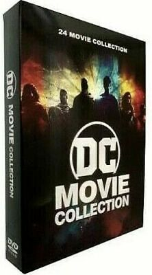 DC Movie Collection (12-Disc DVD, 24-Film Collection) New & Sealed FREE Shipping