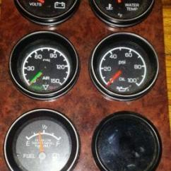 Kenworth T660 Wiring Diagram 1989 Toyota Pickup Fuse Box Gauges | Ebay