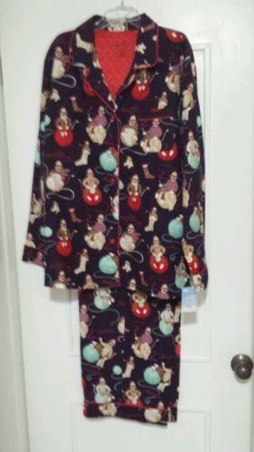 Nick Nora Flannel Pajamas  eBay