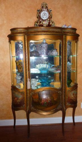 French Curio Cabinet  eBay