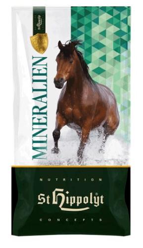 St. Hippolyt Sorbinum Mineral 25kg 1,48€/kg Mineralfutter Mineralien Pferd
