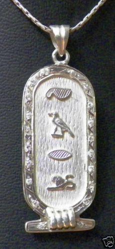 Cartouche Personalized Necklaces Amp Pendants Ebay