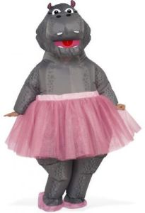 Hippo - Adult Inflatable Costume