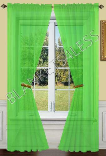 Lime Green Curtains  eBay