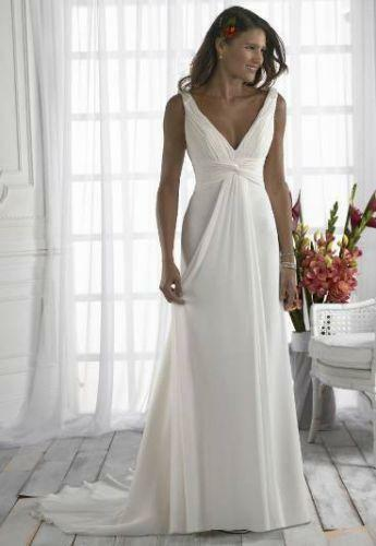 Grecian Wedding Dress  eBay