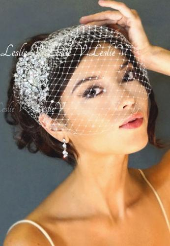 Wedding Birdcage Veil EBay