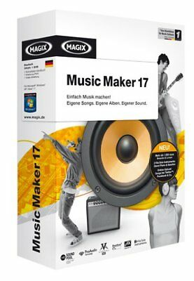 MAGIX Music Maker 17 - Minibox, Sounds und Remixe selbst machen, Software für PC