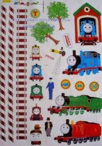 Thomas The Tank Engine Wall Stickers | eBay