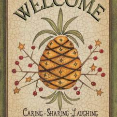 Palm Tree Kitchen Decor Cabinet Boxes Pineapple | Ebay