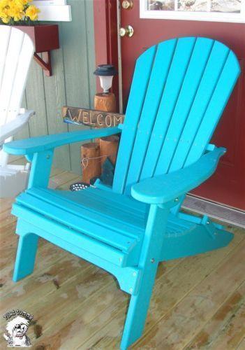 Plastic Adirondack Chairs  eBay