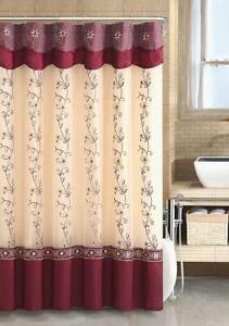 Burgundy Curtains EBay