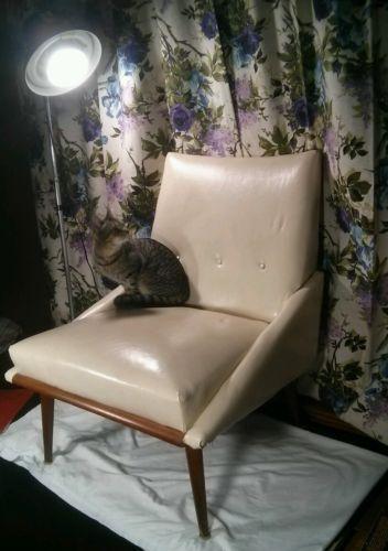 swivel chair mid century kitchen chairs kroehler: antiques | ebay