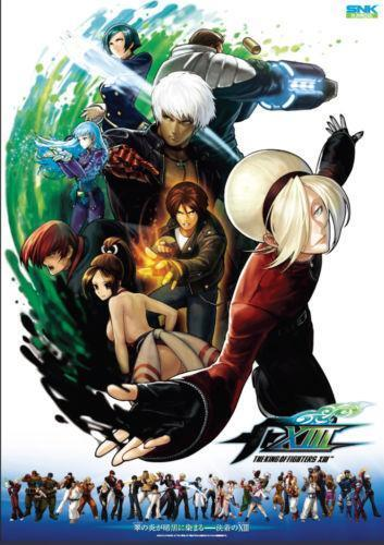 King Of Fighters Poster EBay
