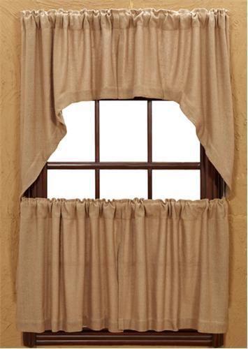 Burlap Curtains EBay