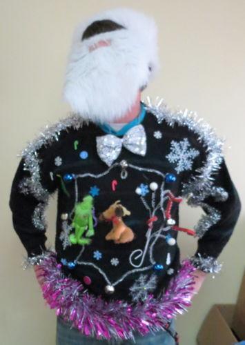 Ugly Christmas Sweater Lights EBay