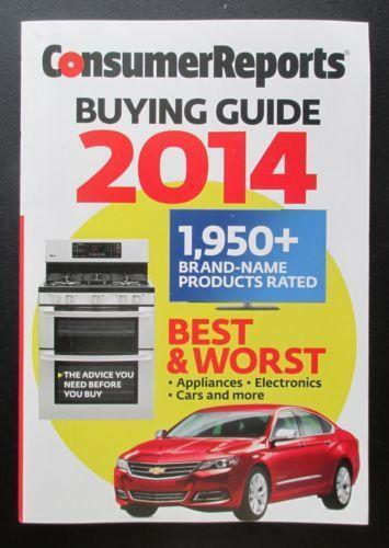 Consumer Reports Buying Guide Ebay