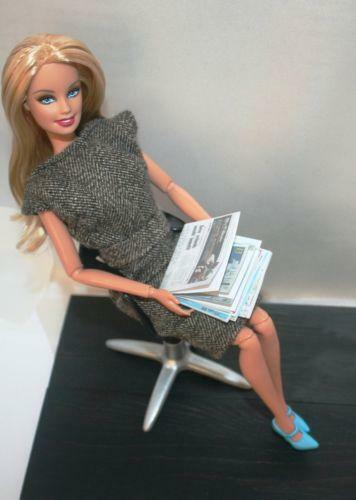 kitchen desk chair custom barbie office | ebay