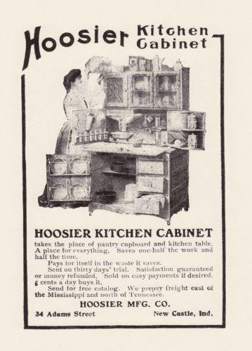 marsh kitchen cabinets non skid rugs hoosier cabinet | ebay