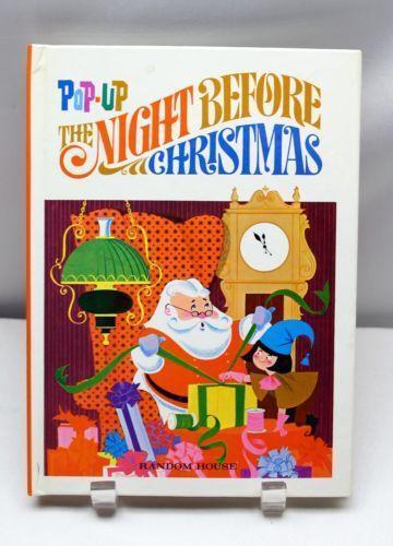 Night Before Christmas Pop Up EBay