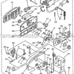 Yamaha 90hp Outboard Wiring Diagram Vw Golf Mk2 Gti 16v 703 Boat Parts Ebay