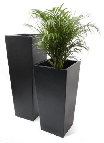 Large Fiberglass Planters Other Pots Boxes Baskets  eBay