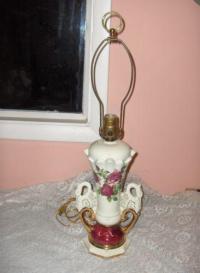 Vintage Swan Lamp