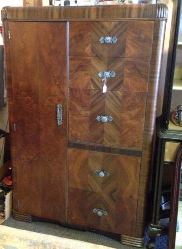 Antique Wardrobe Closet  eBay