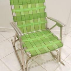 Lawn Chair Webbing Replacement Free Desk Aluminum | Ebay
