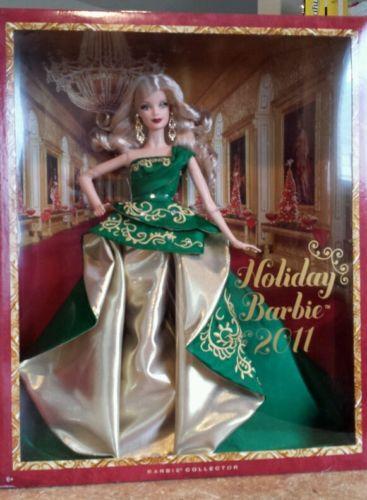 2011 Holiday Barbie EBay