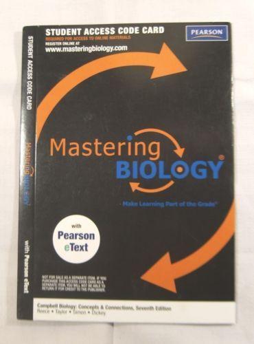 Mastering Biology Access Code  Ebay