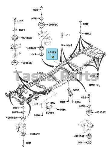 2000 ford explorer exhaust diagram bmw e39 amplifier wiring ranger frame: car & truck parts | ebay