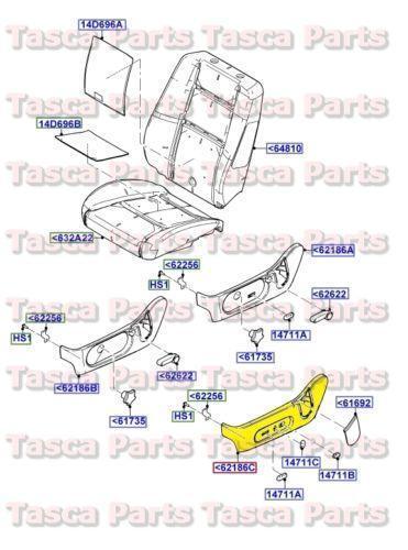 2002 ford explorer parts diagram car relay wiring 2006 seat   ebay