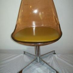 Swivel Chair Cushions Drexel Heritage Chairs Vintage Lucite | Ebay