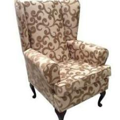 High Back Chairs With Arms Lounge Chair Pads Ebay Wing