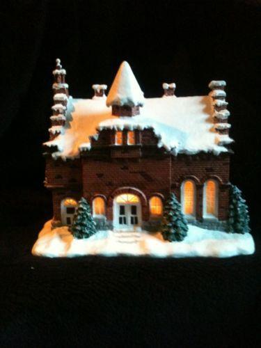Norman Rockwell Christmas Village EBay