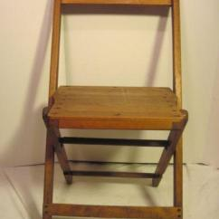 Antique Wood Barber Chair Swing Design Church Chairs | Ebay