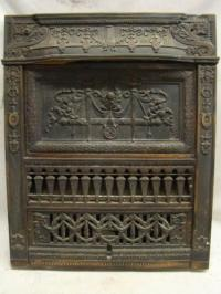Antique Gas Fireplace | eBay